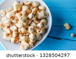 a bunch of popcorn | Shutterstock . vector #1328504297
