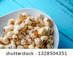 a bunch of popcorn | Shutterstock . vector #1328504351