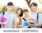 portrait of  asian college... | Shutterstock . vector #1328550011