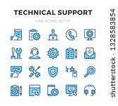 technical support vector line... | Shutterstock .eps vector #1328583854