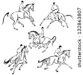 Galloping Riders  Based On Own...