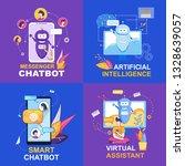 messenger chatbot. artificial...
