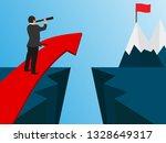 business success concept.... | Shutterstock .eps vector #1328649317