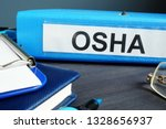folder with label occupational... | Shutterstock . vector #1328656937