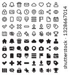vector icon collection of user...
