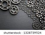 frame of various ball bearings... | Shutterstock . vector #1328739524