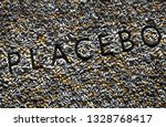 "tablets shape word ""placebo"" ... | Shutterstock . vector #1328768417"