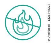 not allowed   fire   flame   | Shutterstock .eps vector #1328795327