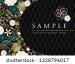 black cool japanese frame   Shutterstock .eps vector #1328796017