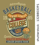 college basketball championship ... | Shutterstock .eps vector #1328803391