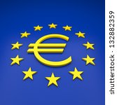 euro | Shutterstock . vector #132882359