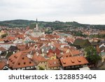 view to the roofs of old city... | Shutterstock . vector #1328853404