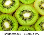 Beautiful Kiwi Fruit Slices...