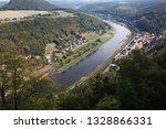 top view of river in little... | Shutterstock . vector #1328866331