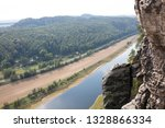 top view of river and rocks in... | Shutterstock . vector #1328866334