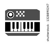 electric piano icon or sign ...   Shutterstock .eps vector #1328890247