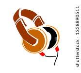 vector headphones illustration  ... | Shutterstock .eps vector #1328890511