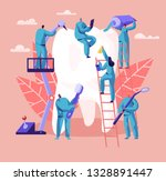 dentist character care of big...   Shutterstock .eps vector #1328891447