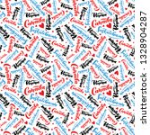 pattern with lettering of... | Shutterstock .eps vector #1328904287