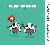 vector illustration of cartoon... | Shutterstock .eps vector #1328910257