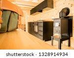 mobile tiny house interior.... | Shutterstock . vector #1328914934