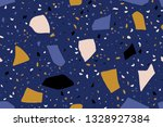 seamless repeating terrazzo... | Shutterstock .eps vector #1328927384