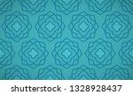 geometrical arabic   ottoman... | Shutterstock .eps vector #1328928437
