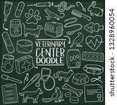veterinary pet center.... | Shutterstock .eps vector #1328960054