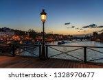 Pont Des Arts Street Lamp At...