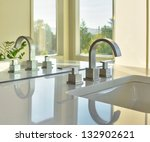 Sink And Reflection In Modern...