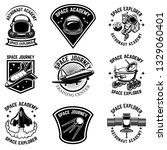 set of space camp label... | Shutterstock .eps vector #1329060401