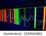 stock exchange market graph on...   Shutterstock . vector #1329062801