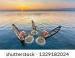 Intha Fishermen In Inle Lake...