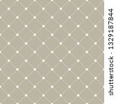 geometric dotted vector gray... | Shutterstock .eps vector #1329187844