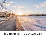 palace bridge. neva river.... | Shutterstock . vector #1329206264