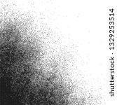 monochrome black halftone... | Shutterstock . vector #1329253514