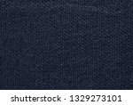 linen texture  dark blue cotton ... | Shutterstock . vector #1329273101