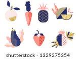 vector collection of fresh...   Shutterstock .eps vector #1329275354