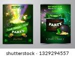 irish holiday saint patrick s... | Shutterstock .eps vector #1329294557