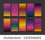 soft color background design.... | Shutterstock .eps vector #1329346601