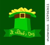 st. patrick's day  vector... | Shutterstock .eps vector #1329363611