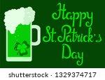 st. patrick's day  vector... | Shutterstock .eps vector #1329374717