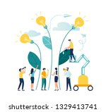 vector illustration. people... | Shutterstock .eps vector #1329413741
