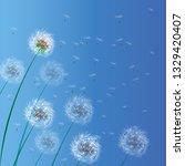 vector illustration of spring... | Shutterstock .eps vector #1329420407