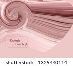 modern colorful flow poster.... | Shutterstock .eps vector #1329440114
