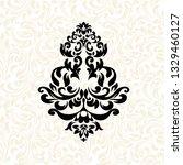 vintage baroque frame scroll...   Shutterstock .eps vector #1329460127