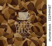 menu for restaurant  cafe  bar  ... | Shutterstock .eps vector #132949487