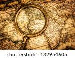 vintage still life. vintage... | Shutterstock . vector #132954605
