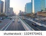 beijing high rise highway   Shutterstock . vector #1329570401