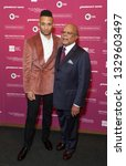 Small photo of New York, NY - March 4, 2019: Ryan Jamaal Swain and Henry Louis Gates Jr. attend the Reconstruction: America After The Civil War premiere at New York Historical Society